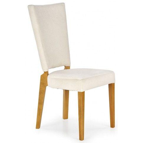 Zdjęcie produktu Krzesło drewniane Amols - kremowe.