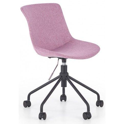 Zdjęcie produktu Fotel dla dziewczynki Nikko - różowy.