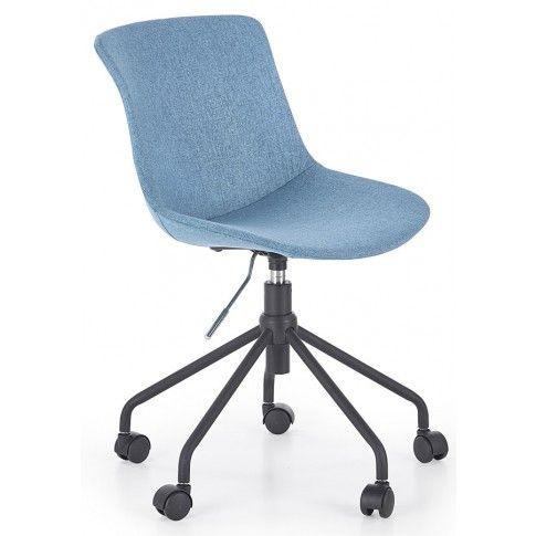 Zdjęcie produktu Dziecięcy fotel obrotowy Nikko - turkusowy.