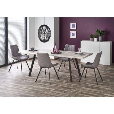 Zdjęcie produktu Rozkładany stół Dorat - marmur.