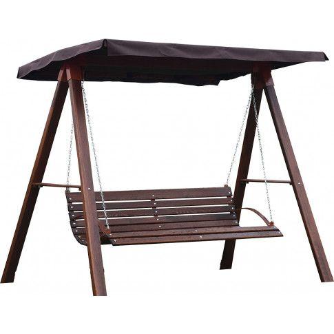 Zdjęcie produktu Drewniana huśtawka ogrodowa Magis 4X - 180cm.