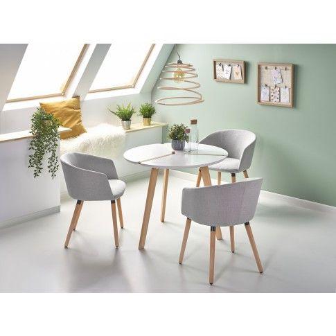 Zdjęcie produktu Nowoczesny stół Ferro - biały.