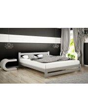 Łóżko drewniane Marsel 160x200 - popiel w sklepie Edinos.pl