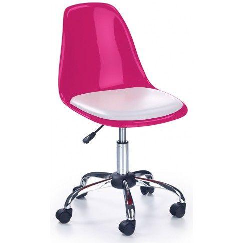 Zdjęcie produktu Fotel młodzieżowy Dafi - różowy.