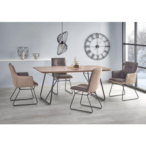 Zdjęcie produktu Minimalistyczny stół Mariot - orzech.