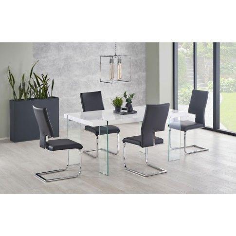 Zdjęcie produktu Nowoczesny stół Piero - biały.