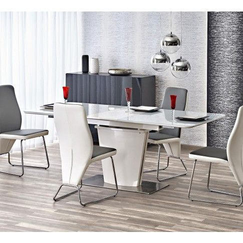 Zdjęcie produktu Szykowny stół Muno - biały.