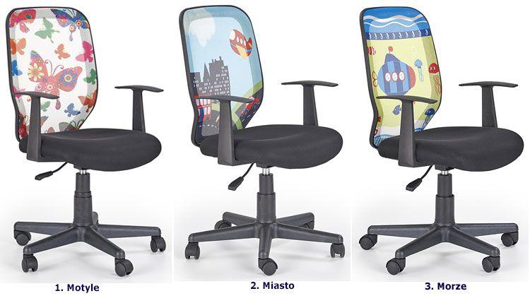 Krzesło obrotowe do biurka dla ucznia Estor