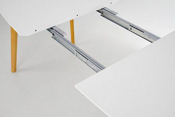 Minimalistyczny stół Modeo - miodowy dąb