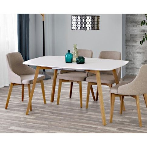 Zdjęcie produktu Rozkładany stół Modeo - biały.