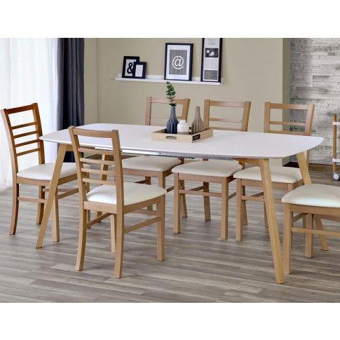 Zdjęcie produktu Minimalistyczny stół Modeo - drewniany.