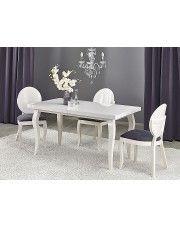 Rozkładany stół Torres - biały
