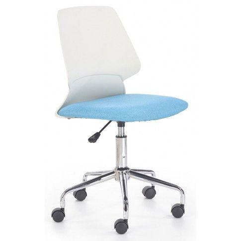 Zdjęcie produktu Fotel obrotowy Eskan - niebieski.