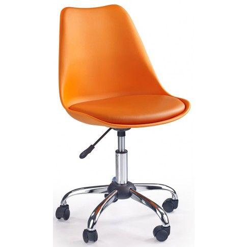 Zdjęcie produktu Fotel młodzieżowy Dafi - pomarańczowy.