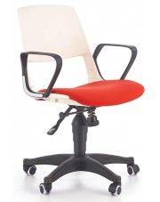 Fotel obrotowy Feris - czerwony