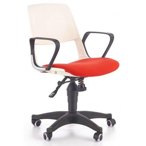 Zdjęcie produktu Fotel obrotowy Feris - czerwony.