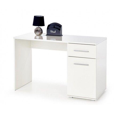 Zdjęcie produktu Modne biurko Lines - białe.