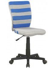 Fotel młodzieżowy Denis - niebieski