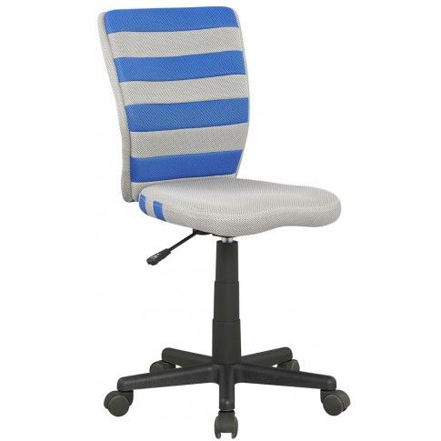 Zdjęcie produktu Fotel młodzieżowy Denis - niebieski.