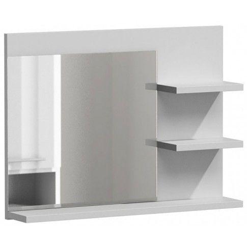 Zdjęcie produktu Lustro łazienkowe Caro 3X - biały połysk.