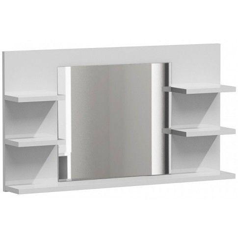 Zdjęcie produktu Lustro łazienkowe Ixelo 3X - biały połysk.