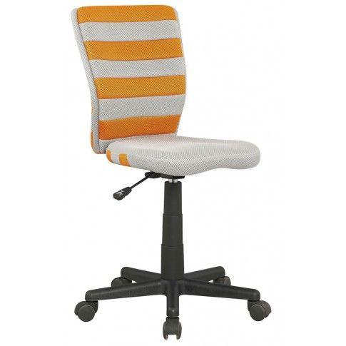 Zdjęcie produktu Fotel młodzieżowy Denis - pomarańczowy.