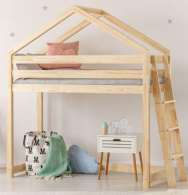 Piętrowe łóżko domek dla dziecka Miles 9X