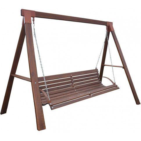 Zdjęcie produktu Ogrodowa huśtawka drewniana Magis 3X - 160 cm.