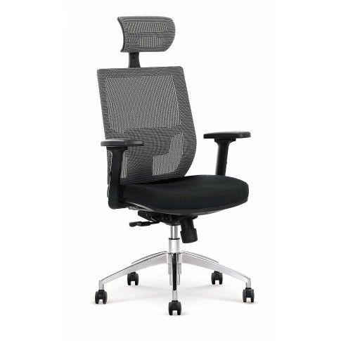 Zdjęcie produktu Fotel gabinetowy Toris - czarny + popiel.