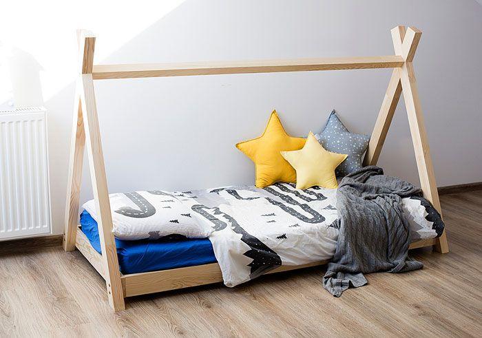 Łóżko dla dziecka domek, namiot Miles 13X