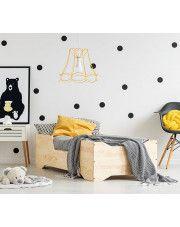 Łóżko drewniane Lexin 2X - 21 rozmiarów w sklepie Edinos.pl