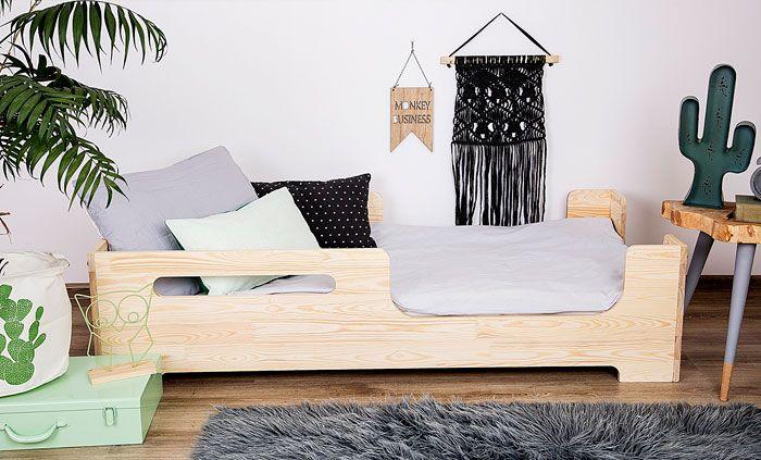 Drewniane łóżko dla dziecka Lexin 3X