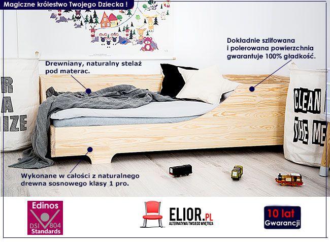 Drewniane Nowoczesne łóżko Dziecięce Lexin 5x Sklep Edinospl