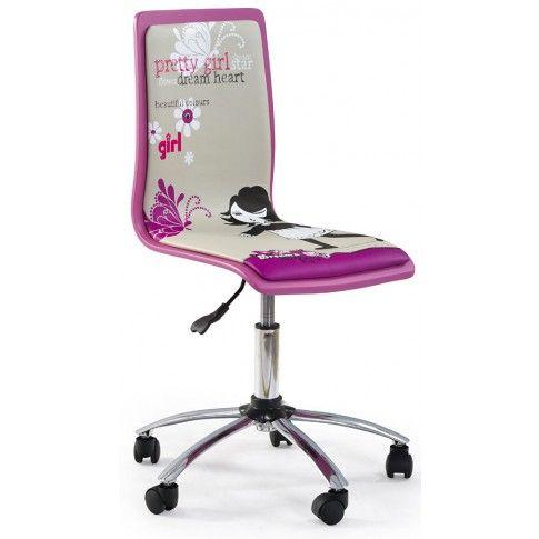 Zdjęcie produktu Fotel młodzieżowy Gimmer - fioletowy.