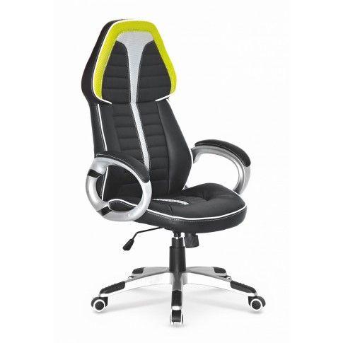 Zdjęcie produktu Fotel gabinetowy Elbro - czarno - popielaty.