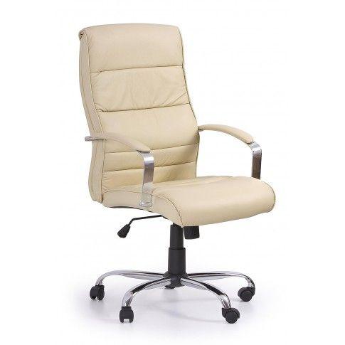 Zdjęcie produktu Fotel gabinetowy Canot - kremowy.