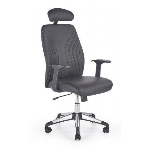 Zdjęcie produktu Fotel gabinetowy Durant - czarny.