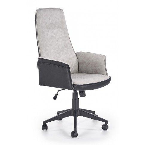 Zdjęcie produktu Fotel gabinetowy Rimbo - czarno - popielaty.