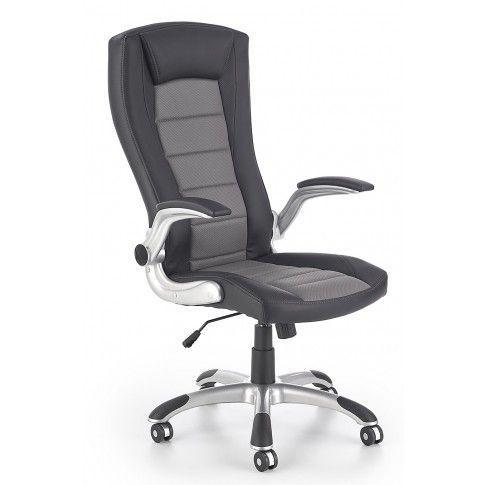Zdjęcie produktu Fotel obrotowy Ragot -  czarno - szary.