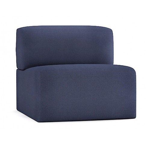 Zdjęcie produktu Fotel wypoczynkowy Climer - ciemnoniebieski.