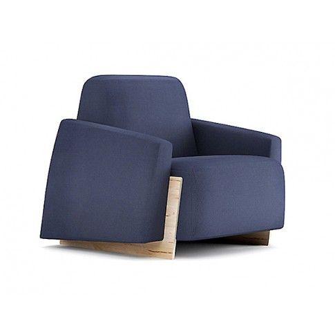 Zdjęcie produktu Fotel wypoczynkowy Pierot - ciemnoniebieski.