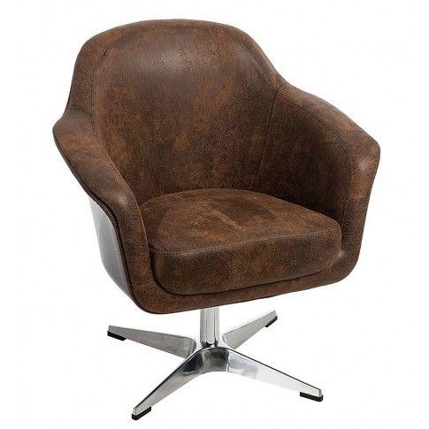 Zdjęcie produktu Fotel wypoczynkowy Hegot - brązowy.