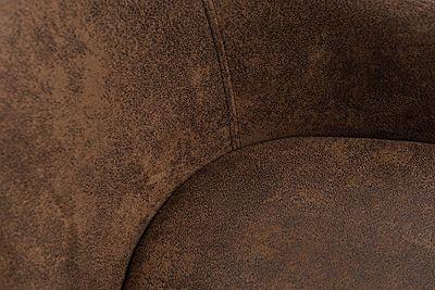 Elegancki fotel wypoczynkowy Hegot - brązowy