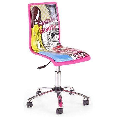 Zdjęcie produktu Fotel dziewczecy Gimmer - Różowy komiks.