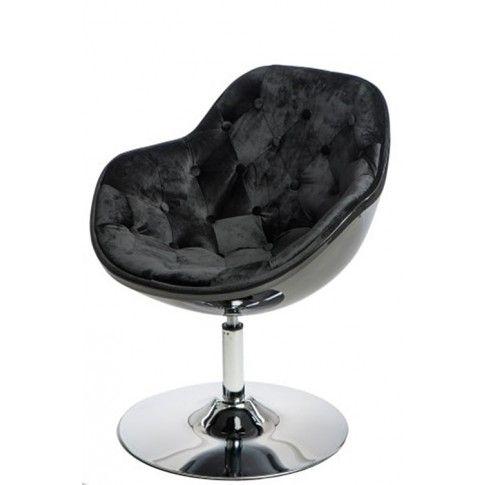 Zdjęcie produktu Fotel wypoczynkowy Ottav - czarny.