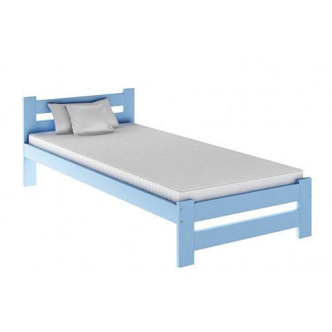 Zdjęcie produktu Łóżko dziecięce Marsel 90x200 - niebieskie.