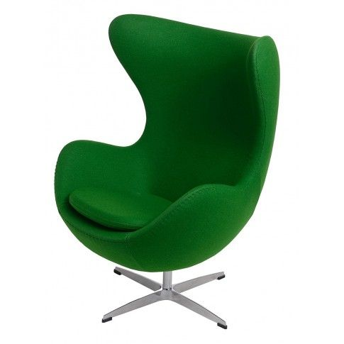 Zdjęcie produktu Fotel wypoczynkowy Eggi 2 - zielony.