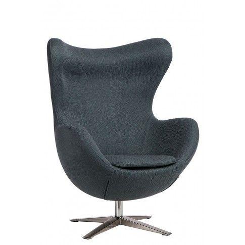 Zdjęcie produktu Fotel wypoczynkowy Eggi 3 - ciemnoniebieski.