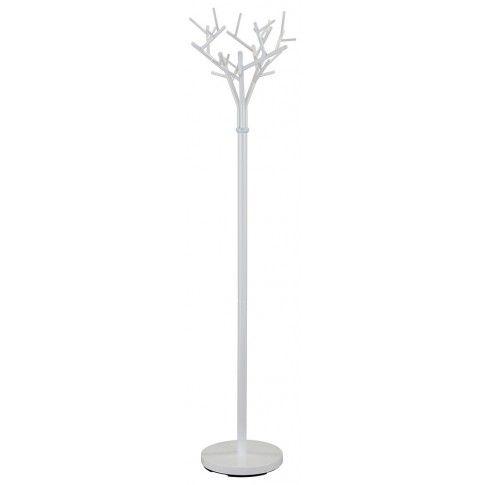 Zdjęcie produktu Wieszak stojący Arlen 11X - biały.