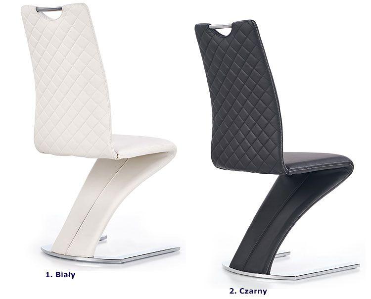Nowoczesne krzesło kuchenne tapicerowane Diskin